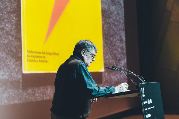 America Sanchez, presentación en los Premios Gràffica