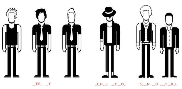 Band Land, app personajes
