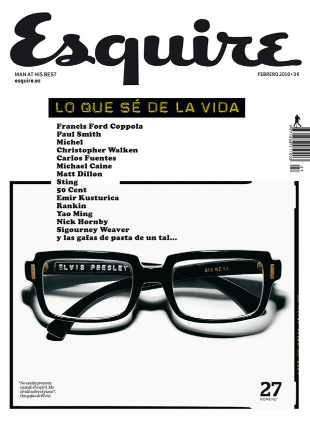 Clara Montagut, portada nº 27 Esquire