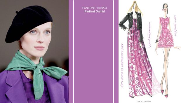 Pantone Orquídea Radiante Color del Año 2014