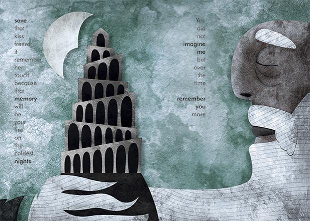 "Josevi Català, ilustración ""The Pass of Time"" (el proyecto de Sotheby´s)"