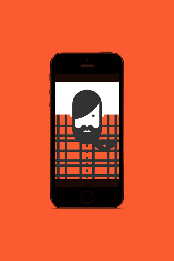 Re-Vision, app para crear iconos minimalistas y hipsters de Forma & Co