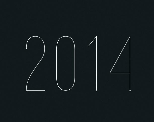 Calendario lunar 2014 diseñado por estudio Flou Flou