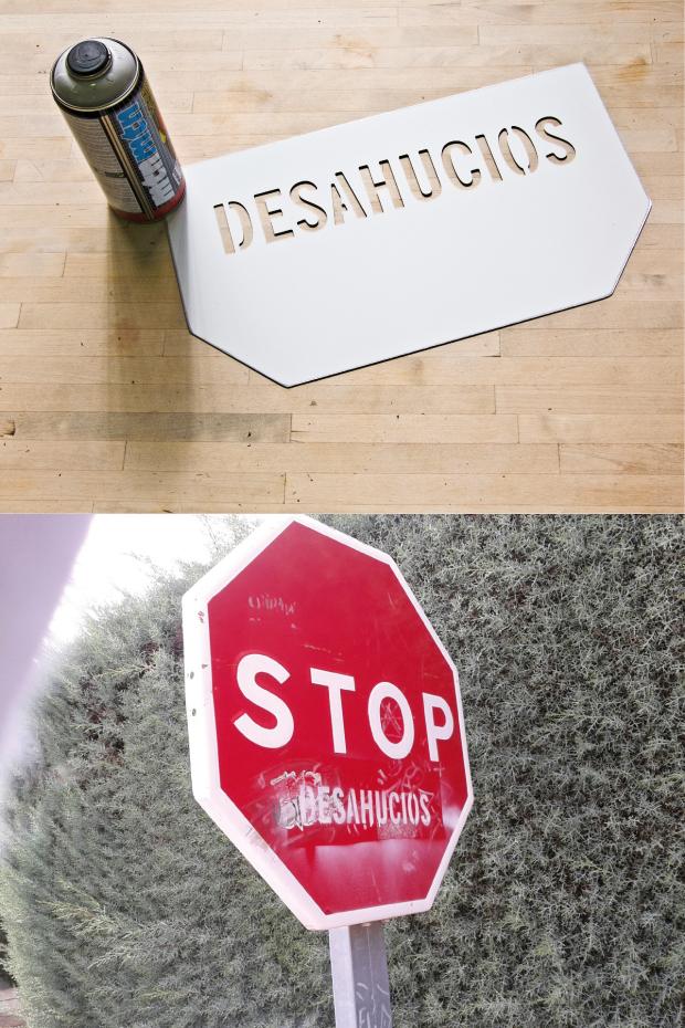 Álvaro Sobrino, Stop DESHAUCIOS