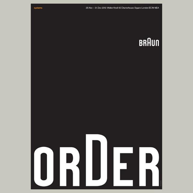 Cartel de la exposición tributo a Braun