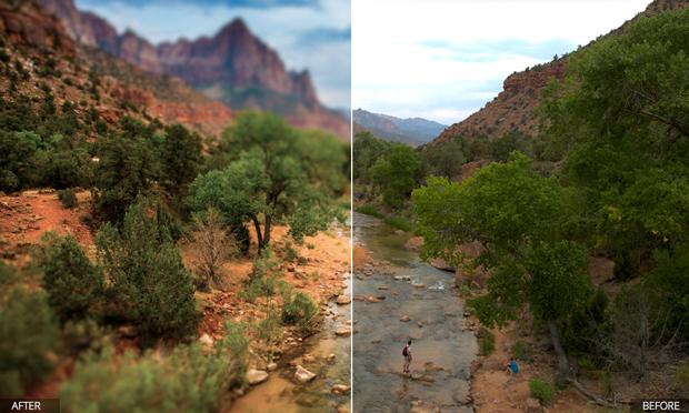 Focus 2, app para retoques fotográficos con desenfoque