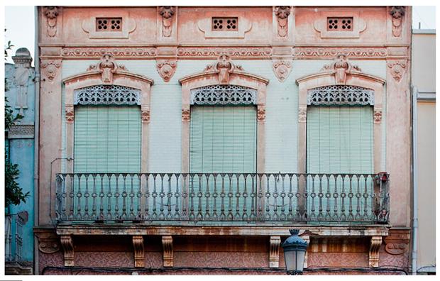 Houses from El Cabanyal, fotografía de Germán Caballero
