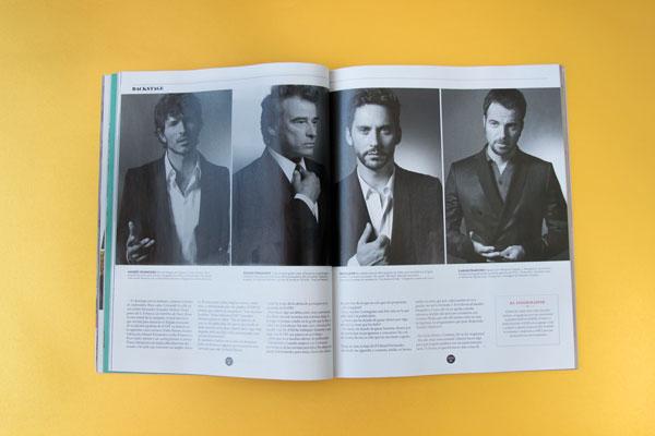 ICON, revista de El País – diseño páginas interiores