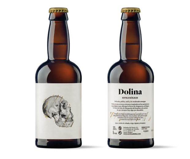 Dolina, packaging e identidad visual de estudio Moruba