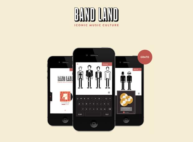 Band Land, app juego