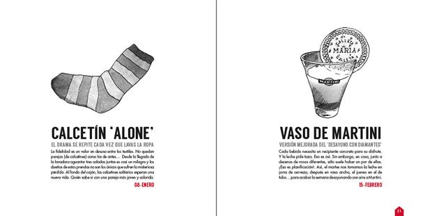 Home Sapiens, Guía de supervivencia ilustrada para jóvenes emancipados  páginas interiores