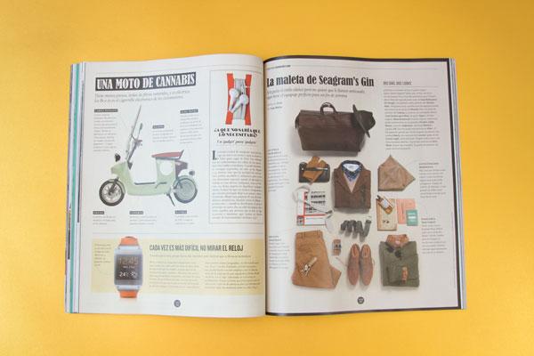 ICON, revista de El País – ilustración páginas interiores