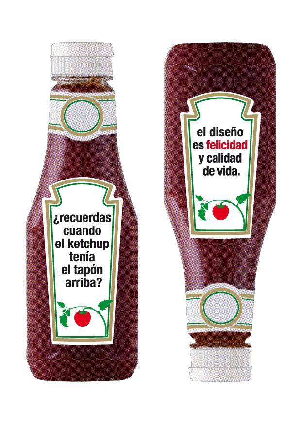 Álvaro Sobrino, cartel ketchup