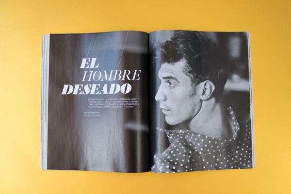 ICON, revista de El País – diseño entrevista páginas interiores