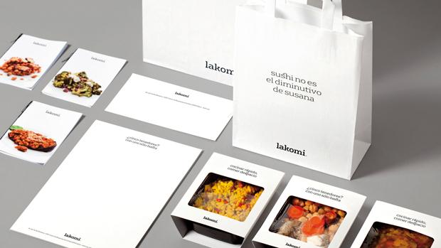 Atipo, packaging Lakomi