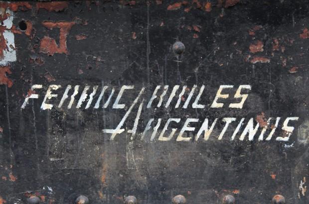Tipografía ferrocarriles argentinos