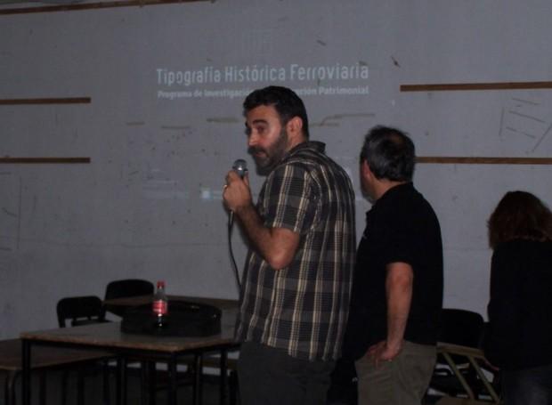 Tipografía ferrocarriles argentinas contada por Fabio Ares