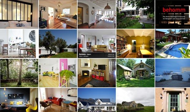 Behomm, la 1ª comunidad de intercambio de casas sólo para diseñadores