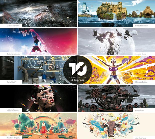 Fotolia te invita a liberar tu creatividad y a desafiar a los artistas de la Colección TEN