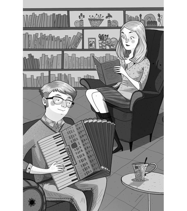 Laura Pérez ilustra el Premio Edebé – pareja