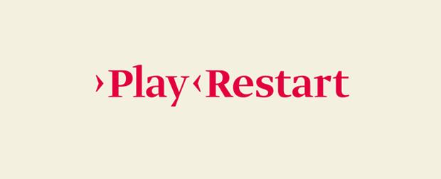 Play Restart, logo