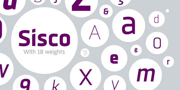 Sisco, nueva familia tipográfica para uso editorial e identidad de marca