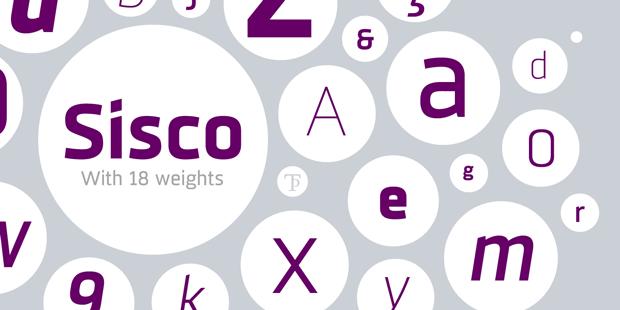 Sisco, familia tipográfica de Tipo pèpel