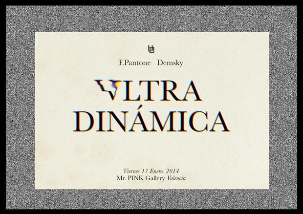 Ultra Dinámica, exposición de Felipe Pantone y Demsky