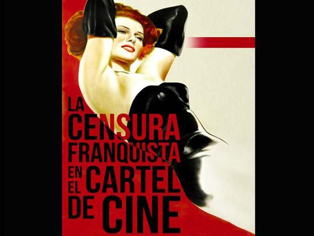 La censura franquista en el cartel de cine, portada del libro