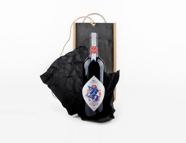 packaging de Grantipo – El rey ha muerto, viva el vino