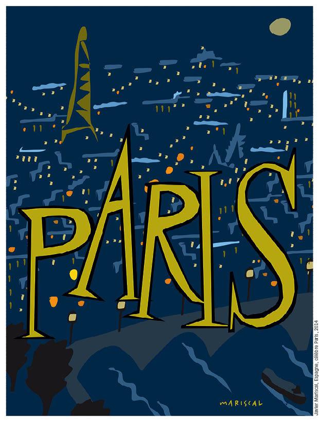 Mariscal - homenaje al cartel francés