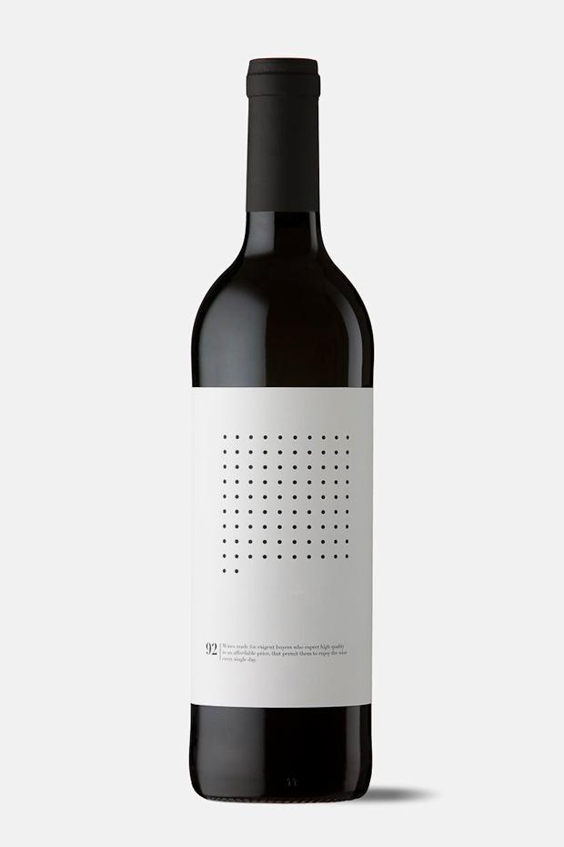Ninety Wines, etiqueta de vino 99