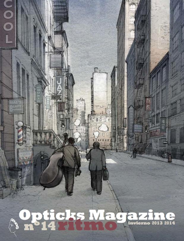 Opticks Magazine edición invernal con portada de Jordi Vila Delclòs