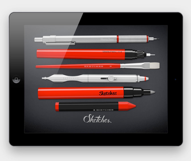 Tayasui Sketches, app de dibujo en iPad