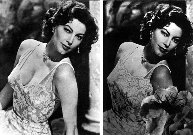 Ava Gardner – La censura franquista en el cartel de cine