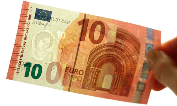 diseño del nuevo billete de 10 euros de la serie Europa