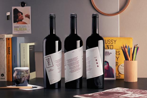 tinta de vino – etiquetas branding y packaging diseñadas por Ladyssenadora