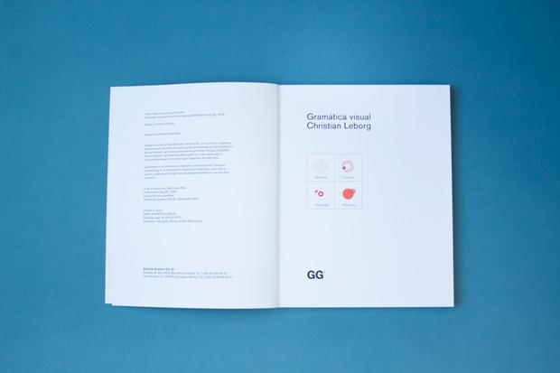 Gramática visual, de Christian Leborg, interior libro