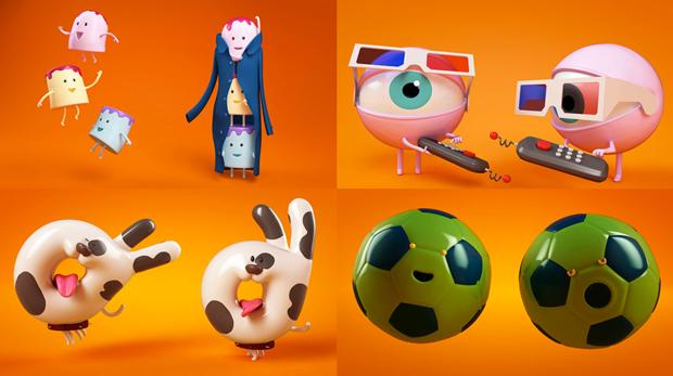 Nuevos idents de Cómodo Screen para Nickelodeon