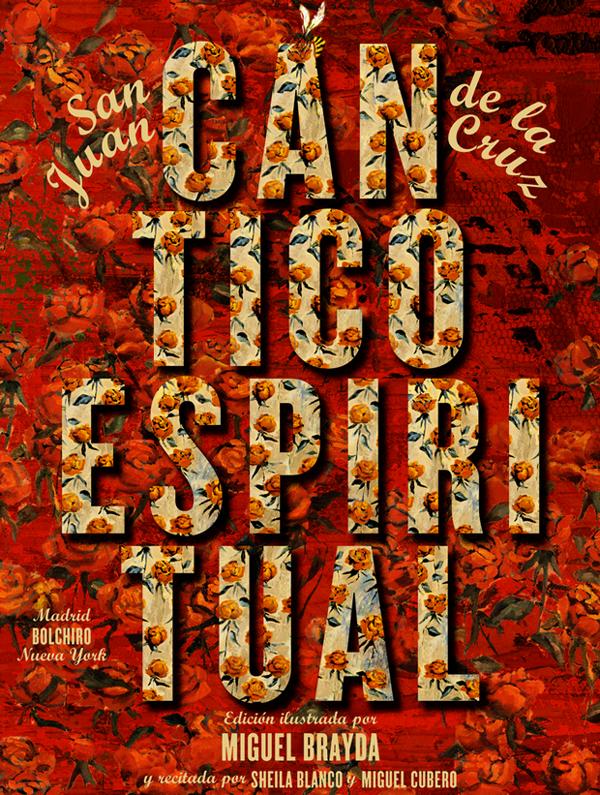 Cántico Espiritual, eBook enriquecido iPad portada de Rodrigo Sánchez