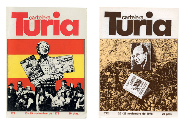 Cubiertas para Cartelera Turia. Miguel Calatayud