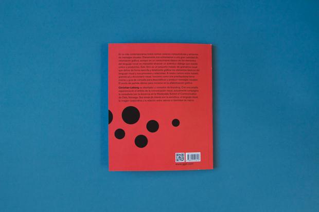 Gramática visual, de Christian Leborg – contraportada libro