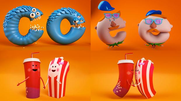 Nickelodeon Popcorn estrena idents de Cómodo Screen