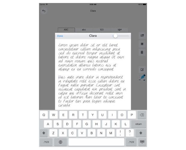 urFonts, aplicación para personalizar tipografías