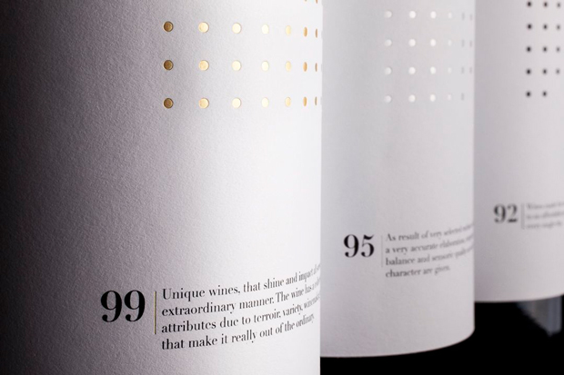 Ninety Wines, packaging