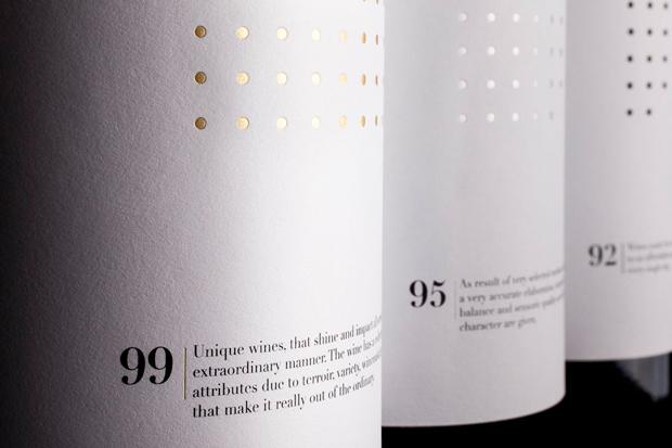 Ninety Wines, packaging