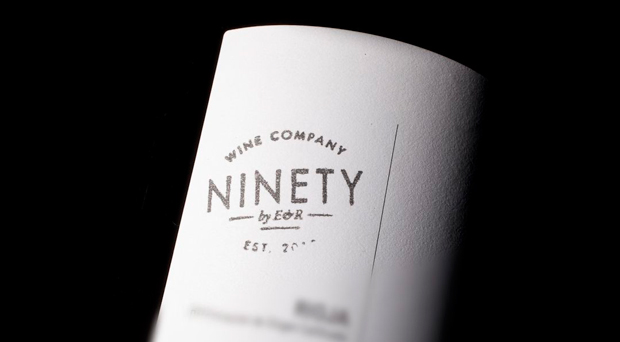 Ninety Wines, diseño etiquetas de vino