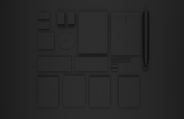 Ebony & Ivory, papelería corporativa