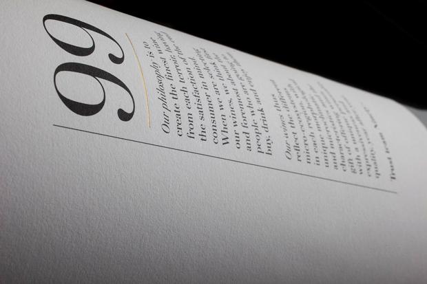 Ninety Wines, etiquetas de vino 99