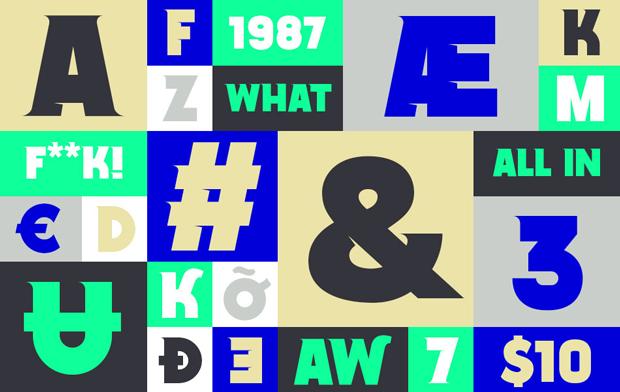 Essay, una tipografía de Noem9 Studio